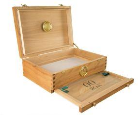 00 Box Caja de Madera para Curado y  Extracción