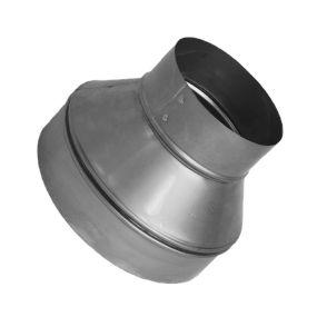 Acople Reducción Metal Tubo Conducción