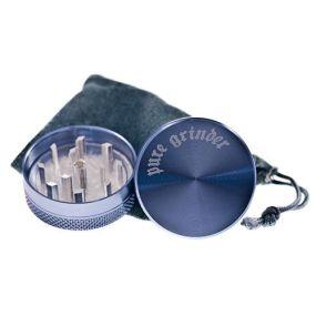 Pure Grinder Picador Aluminio 2-partes Azul