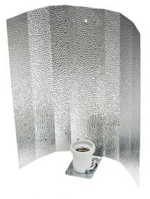 Reflector Aluminio Stuco Brillante E40