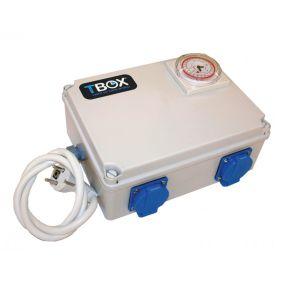 Temporizador Tempo Box T-Box 4 salidas 600W