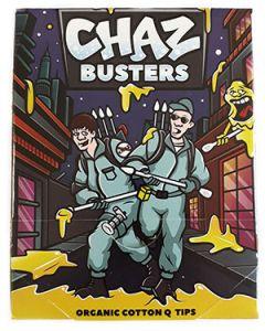 Chaz Busters Organic Cotton Q Tips Bastoncillos Orgánicos