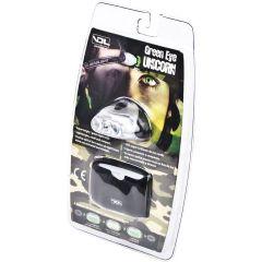 Green Eye Unicorn LED Linterna Frontal Verde
