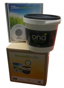 Kit ONA Breeze Fan Dispensador & Cubo Gel 4L