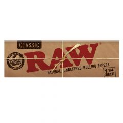 Papel Raw Classic 1 1/4 Natural