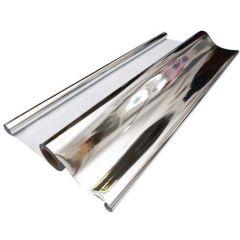 Plástico / Papel Reflectante Mylar Plata 50µm (1,4x100m)