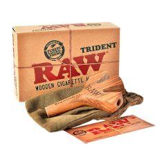 Raw Trident Pipa de Madera