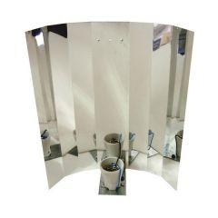 Reflector Liso Aluminio Brillo 250-600W (E40)